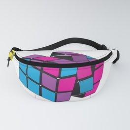 Twisty Cubes Fanny Pack