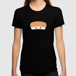 Salmon Dreams in wasabi, large T-shirt