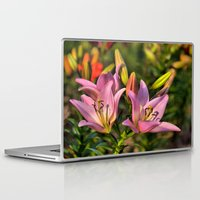 lily Laptop & iPad Skins featuring lily by Karl-Heinz Lüpke