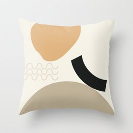 // Shape study #24 Throw Pillow