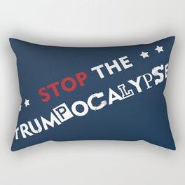 Stop the Trumpocalypse! Rectangular Pillow