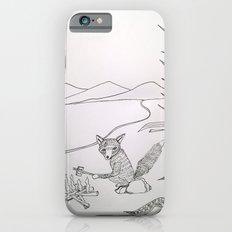 camping fox iPhone 6s Slim Case