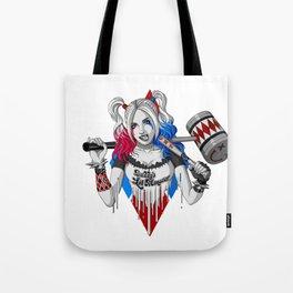 Harley Quinn Armed Tote Bag