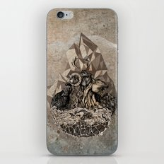 When nature strikes back  iPhone Skin