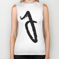 letters Biker Tanks featuring letters by edesigns