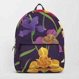Elegant Floral Pattern Backpack