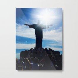 Christ the Redeemer Metal Print