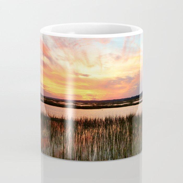 Sunset And Reflections Coffee Mug