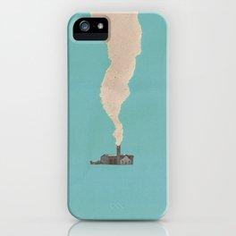 Torn Around — Smoke iPhone Case