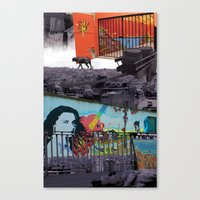 chile Canvas Prints featuring Chile by Noush