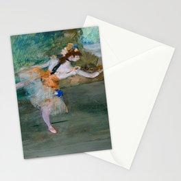 "Edgar Degas ""Dancer on stage"" Stationery Cards"