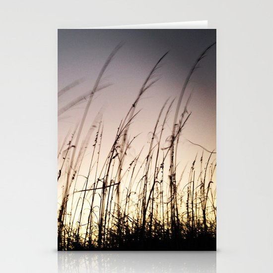 Sunset on Tybee Stationery Cards