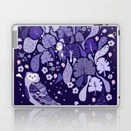 Floating violet Flora Laptop & iPad Skin