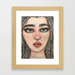 Piercing Framed Art Print
