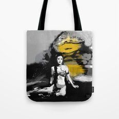Leia and Jabba Tote Bag