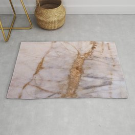 Polished Marble Stone Mineral Abstract Texture 32 Rug