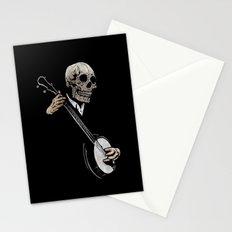 Skullboys' Banjo Blues Stationery Cards