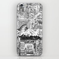 lost in translation iPhone & iPod Skins featuring Lost In Translation by Candice Soon