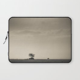 Lone Wildebeest grazing in South Africa Laptop Sleeve