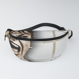 Psycho by Alfred Hitchcock, with Janet Leigh Shower Scene H Color Fanny Pack