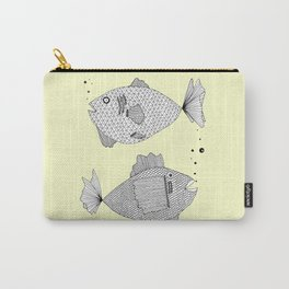 2 fish Carry-All Pouch