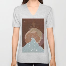 Aquarius Blessings Unisex V-Neck