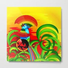 Paradise Bird Metal Print