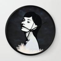 audrey Wall Clocks featuring Audrey by EISENHART