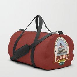 Thomas Point Light Duffle Bag