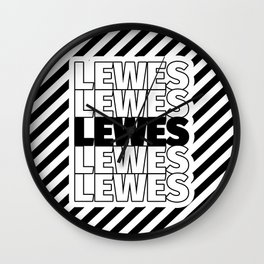 Lewes USA CITY Funny Gifts Wall Clock