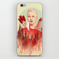 games iPhone & iPod Skins featuring The Games by Katie Sanvick
