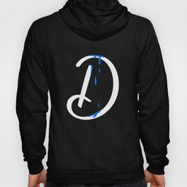 Dripping letter D Hoody
