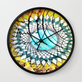 Flock In Perfect Formation Wall Clock