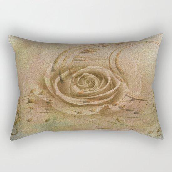 Timeless Love Abstract Rectangular Pillow