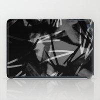 noir iPad Cases featuring Noir by Raluca Ag