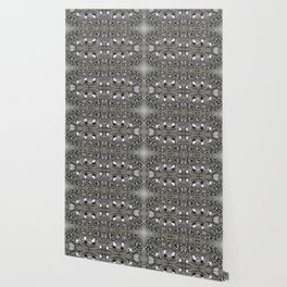 girly chic glitter sparkle rhinestone silver crystal Wallpaper