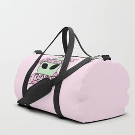 We Are Friendly (Pink) Duffle Bag