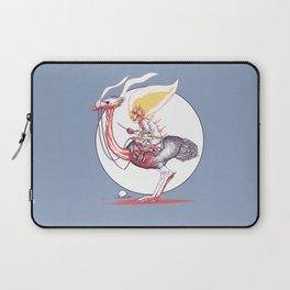 Ghostrich Rider (Ghost Ostrich Rider) Laptop Sleeve