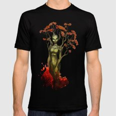 Crimson Dryad Mens Fitted Tee Black SMALL