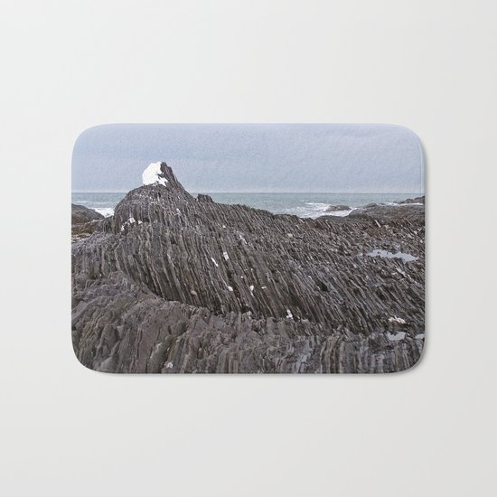 The Ends of the Earth are Frozen in Time Bath Mat