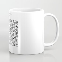 It was the Best of Times, It was the Worst of Times Coffee Mug