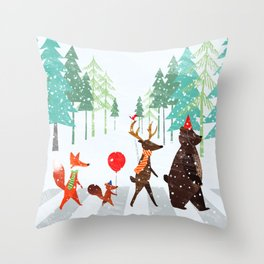 Abbey Road Throw Pillow