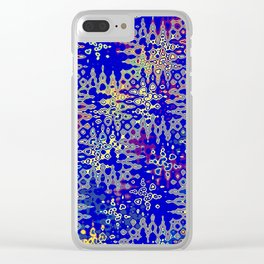 Touch of Yellow Clear iPhone Case