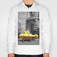 yellow submarine Hoodies featuring yellow submarine  by 33bc