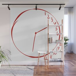 Will Graham Clock Drawing - Hannibal Wall Mural