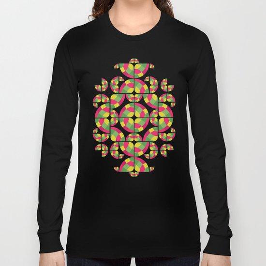 Vivid Dreams Pattern Long Sleeve T-shirt