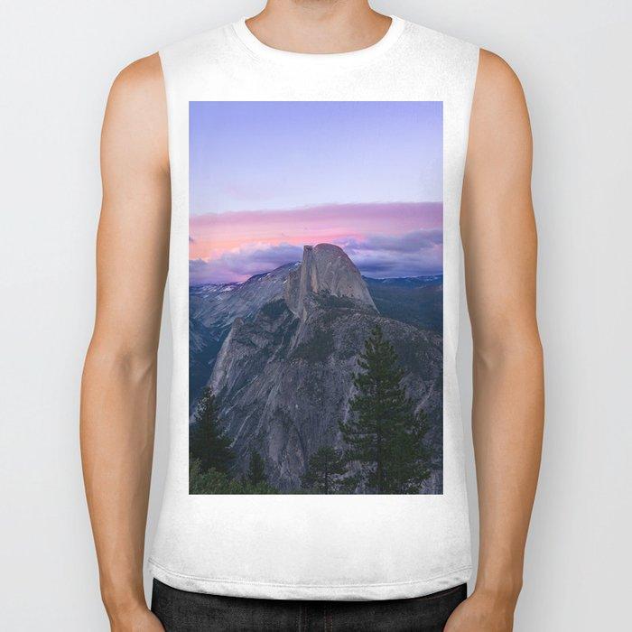 Yosemite National park #society6 Biker Tank