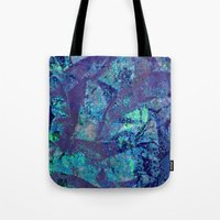 mineral Tote Bags featuring Mineral  by M. Noelle Studios