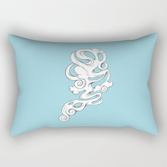 Cirrus///1 Rectangular Pillow