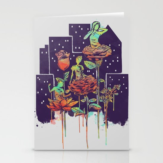 City of Flower Stationery Cards